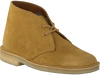 Gelbe CLARKS Ankle Boots DESERT BOOT DAMES - small