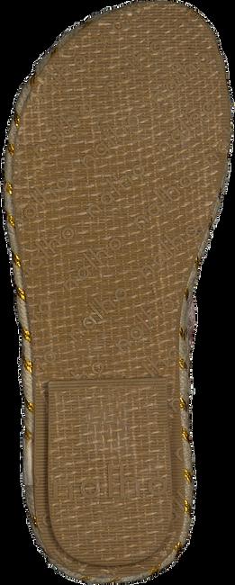 Bronzefarbene NLAHO Sandalen GANIKA VELVET  - large