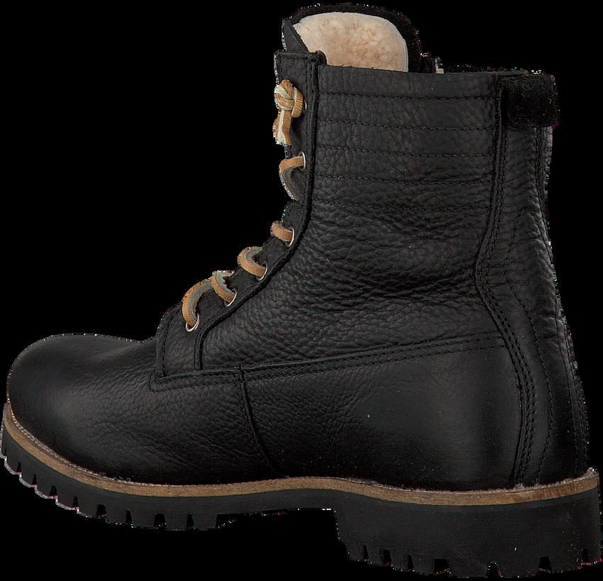 Schwarze BLACKSTONE Ankle Boots IM12 - larger