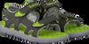 Grüne TIMBERLAND Sandalen PERKINS ROW 2-STRAP  - small