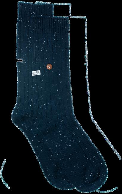Blaue Alfredo Gonzales Socken SPECKLED COTTON  - large