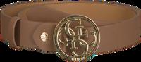 Cognacfarbene GUESS Gürtel ADHUSTABLE PANT BELT  - medium