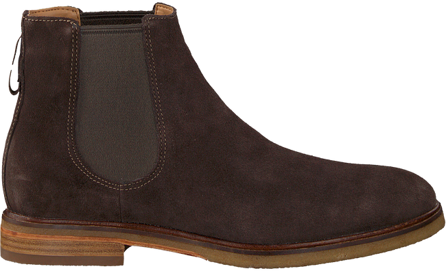 Braune CLARKS Chelsea Boots CLARKDALE GOBI HEREN - large