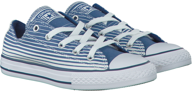 Blaue CONVERSE Sneaker CTAS STRIPE KIDS - large