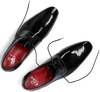 Schwarze GREVE Business Schuhe RIBOLLA 1161  - small