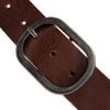 Braune PETROL Gürtel 50463 - small