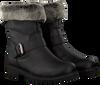 Schwarze PANAMA JACK Biker Boots SINGAPUR B22 - small