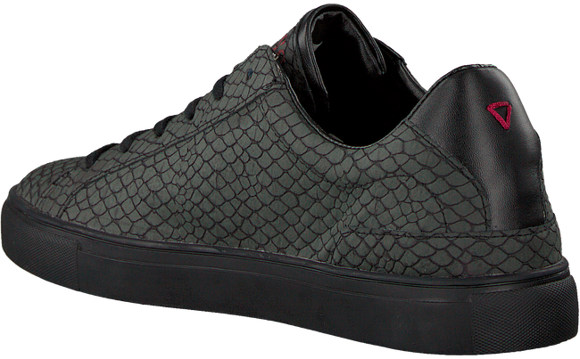 Schwarze GUESS Sneaker LUISS B PRINTED ECO LEATHER  - large