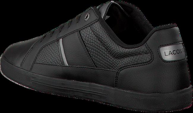 Schwarze LACOSTE Sneaker EUROPA - large