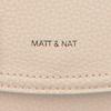 Beige MATT & NAT Umhängetasche PURITY CROSSBODY  - small