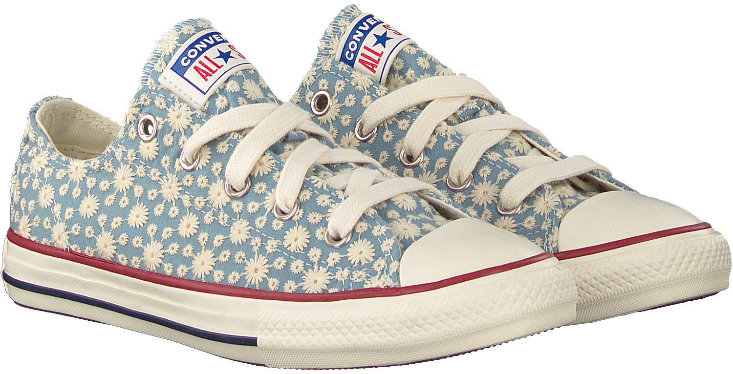 Converse Chuck Taylor All Star Kid's Youth Denim Heart Low
