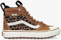 Camelfarbene VANS Sneaker high UA SK8-HI DAMES - medium