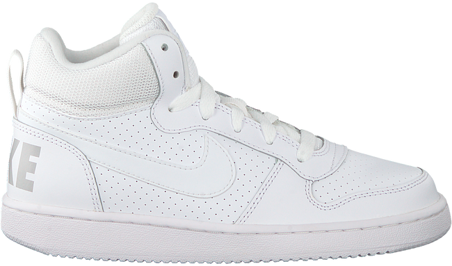 Weiße NIKE Sneaker COURT BOROUGH MID (GS)  - large