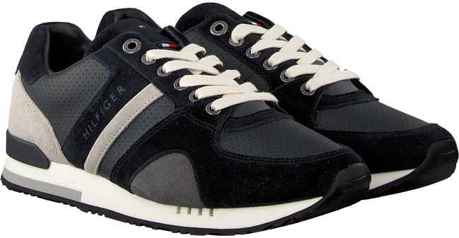 Blue TOMMY HILFIGER shoe NEW ICONIC CASUAL RUNNER  - large