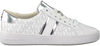 Weiße MICHAEL KORS Sneaker low IRVING STRIPE LACE UP  - small
