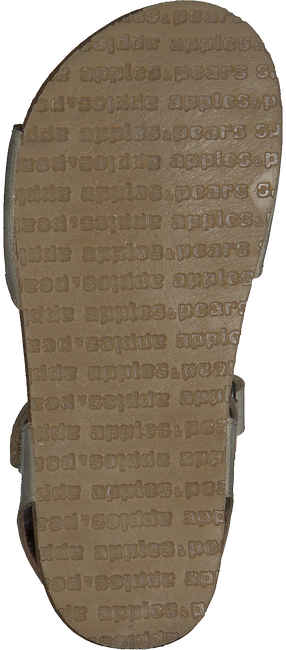 Beige APPLES & PEARS Sandalen FLEUR  - large
