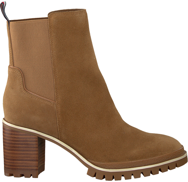 Taupe TOMMY HILFIGER Stiefeletten SPORTY MID HEEL  - large