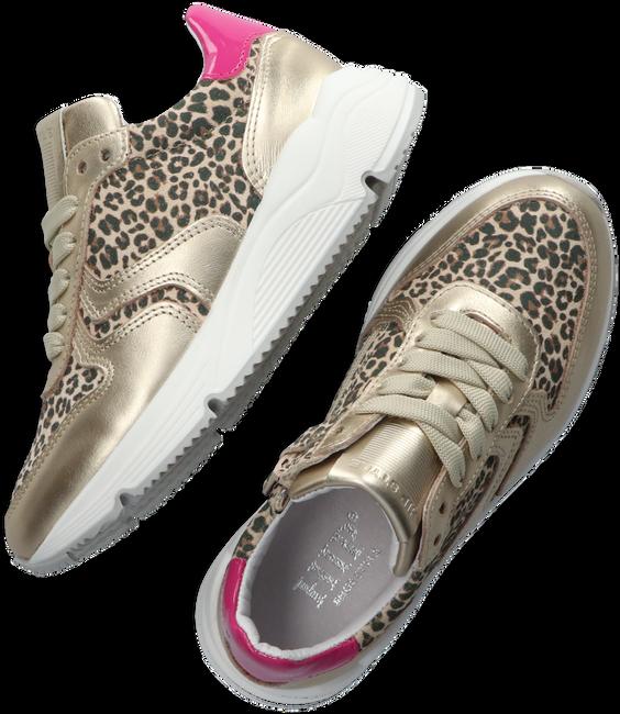 Goldfarbene HIP Sneaker low H1797  - large