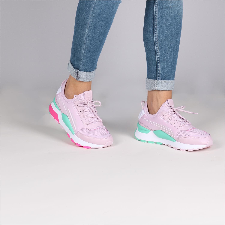 Weiße PUMA Sneaker RS-0 PLAY DAMES - Omoda