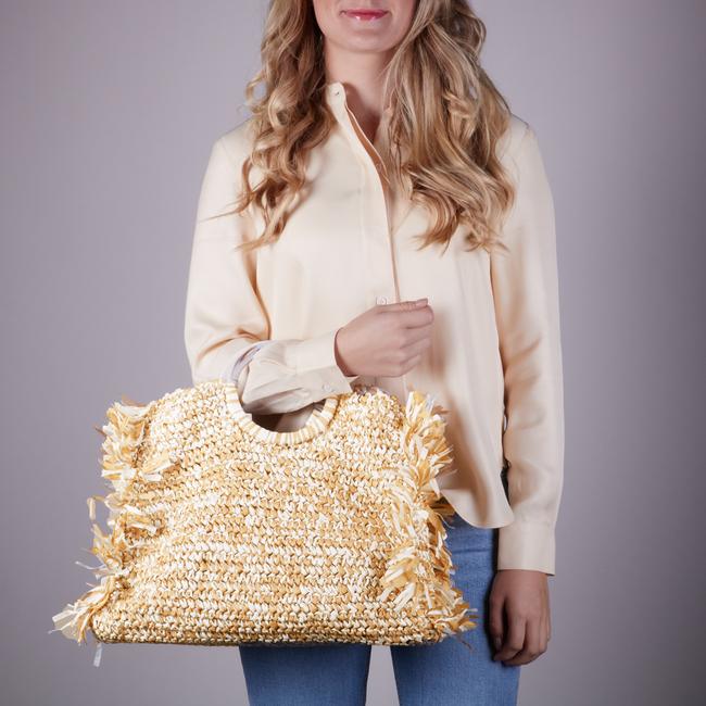 Beige BECKSONDERGAARD Handtasche MIX FALKA BAG  - large