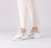 Beige VIA VAI Sneaker low ZAIRA MOON  - small