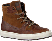 Cognacfarbene VINGINO Sneaker high SIL MID  - medium