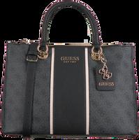 Schwarze GUESS Handtasche CATHLEEN STATUS CARRYALL  - medium