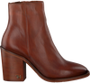 Cognacfarbene TOMMY HILFIGER Stiefeletten MONO COLOR HEELED  - small