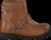 Cognacfarbene BUNNIES JR Biker Boots TINA TROTS - small