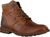 Cognacfarbene GAASTRA Ankle Boots CREW HIGH BOAT - small