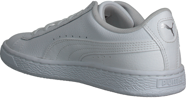 Weiße PUMA Sneaker BASKET CLASSIC LFS - large