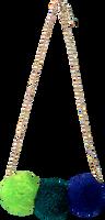 Blaue LE BIG Kette POOKY NECKLACE  - medium