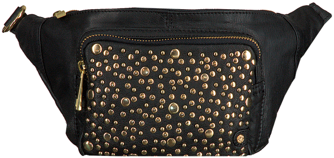 Schwarze DEPECHE Gürteltasche BUM BAG 13788  - large