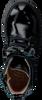 Schwarze CLIC! Schnürboots 9520 - small