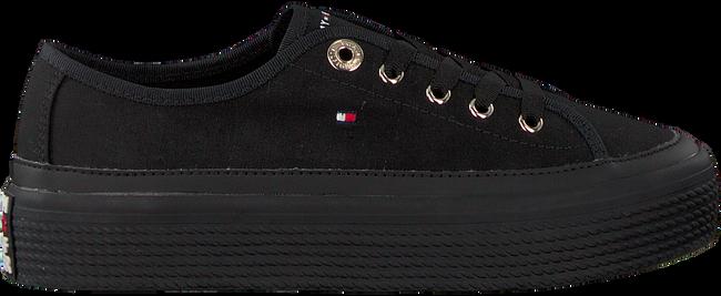 Schwarze TOMMY HILFIGER Sneaker CORPORATE FLATFORM SNEAKER  - large
