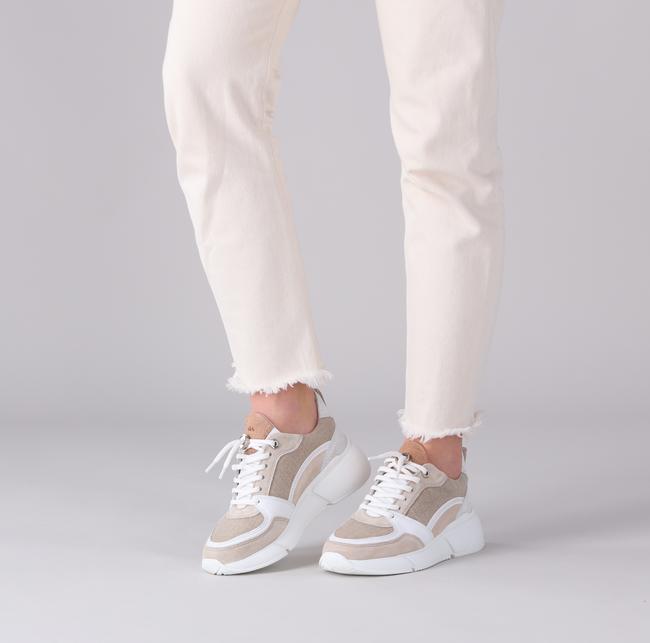 Camelfarbene VIA VAI Sneaker low CELINA JESS  - large