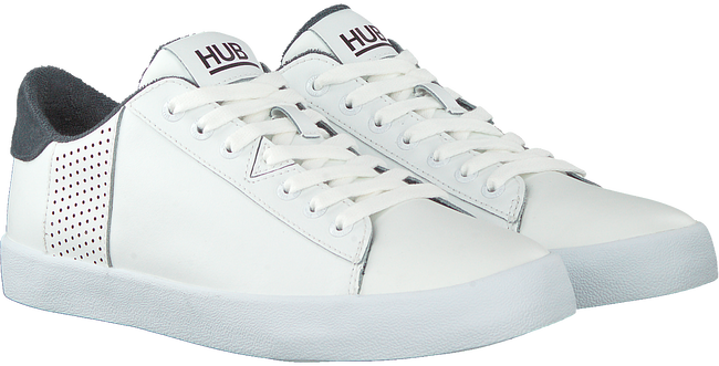Weiße HUB Sneaker low HOOK-R  - large