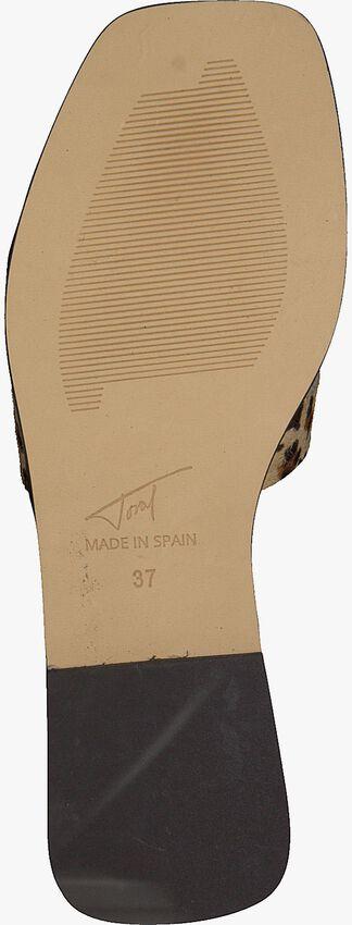 Beige TORAL Mules 11074  - larger