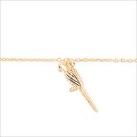 Goldfarbene ALLTHELUCKINTHEWORLD Armband SOUVENIR BRACELET PARROT - medium