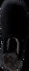 Schwarze WARMBAT Hausschuhe CLASSIC UNISEX SUEDE - small