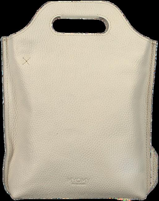 Weiße MYOMY Handtasche CARRY BAGGY - large