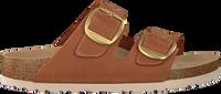Cognacfarbene BIRKENSTOCK Pantolette ARIZONA BRANDY  - medium