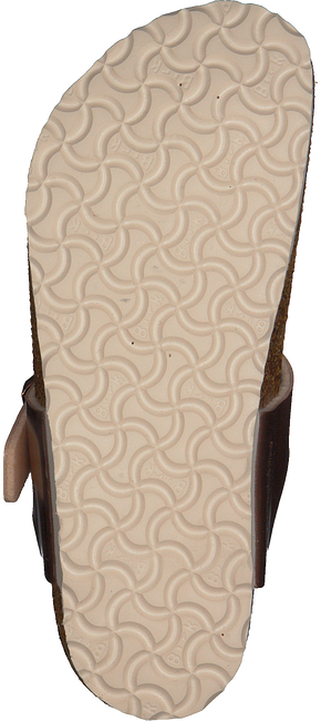 Bronzefarbene BIRKENSTOCK Pantolette GIZEH - large
