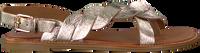 Goldfarbene VERTON Sandalen S-10195  - medium