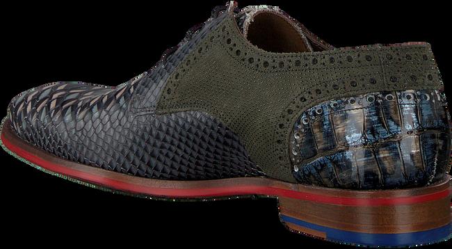 Graue FLORIS VAN BOMMEL Business Schuhe 18106  - large