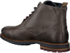Graue CYCLEUR DE LUXE Schnürboots OFFICER - small