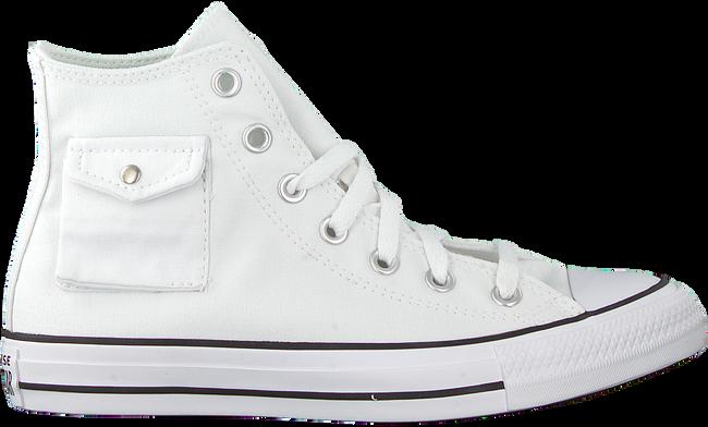 Weiße CONVERSE Sneaker high CHUCK TAYLOR AS POCKET HI - large