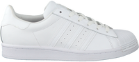 Weiße ADIDAS Sneaker low SUPERSTAR DAMES  - medium