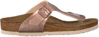 Bronzefarbene BIRKENSTOCK Pantolette GIZEH - medium