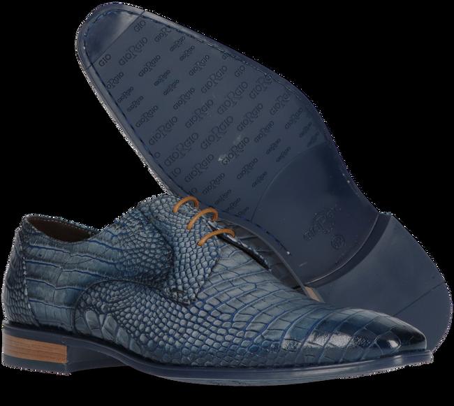 Blaue GIORGIO Business Schuhe 964156  - large